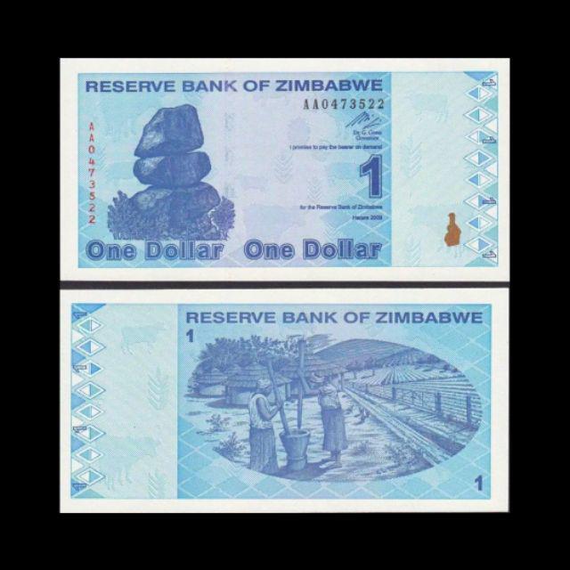 Reserve Bank Of Zimbabwe Unc Original