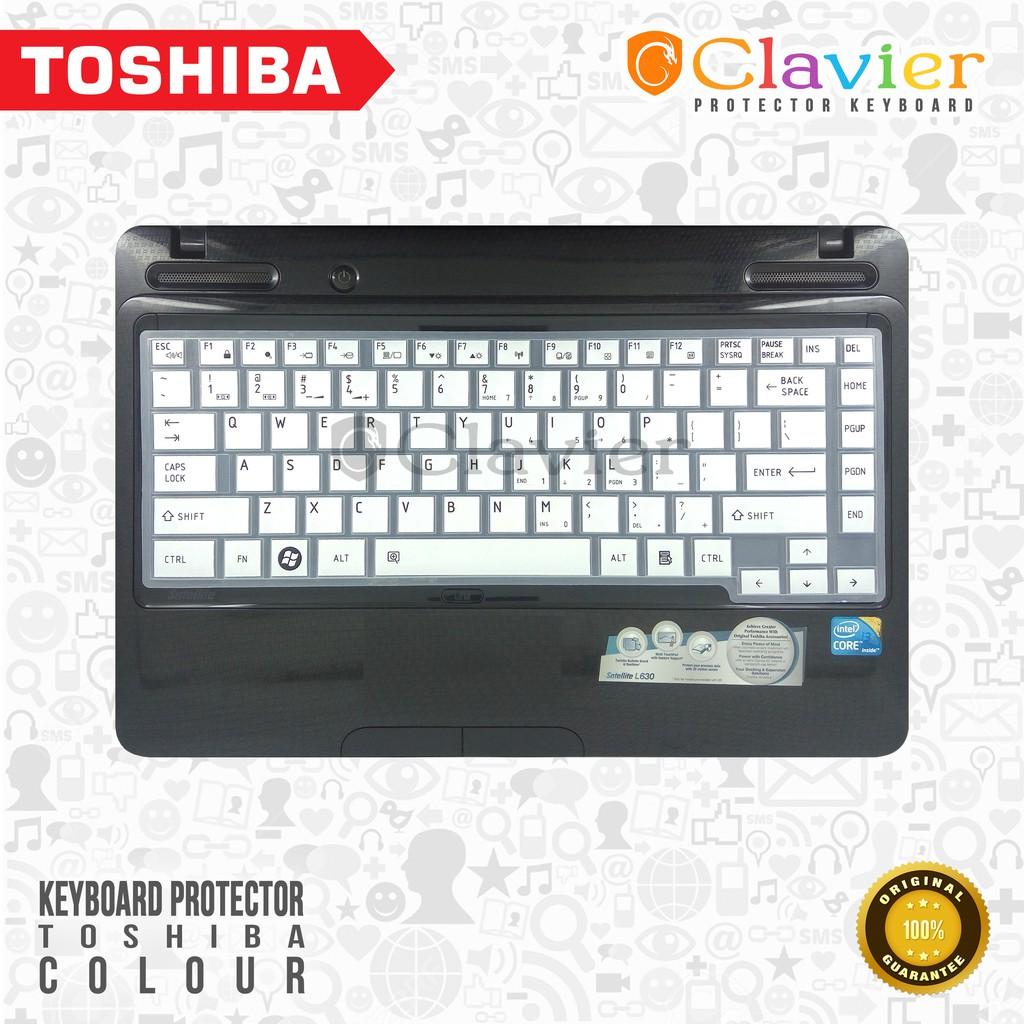 Toshiba Color Keyboard Protector Cover Protektor Hp Silicone Pelindung Silikon Garskin Laptop Shopee Indonesia