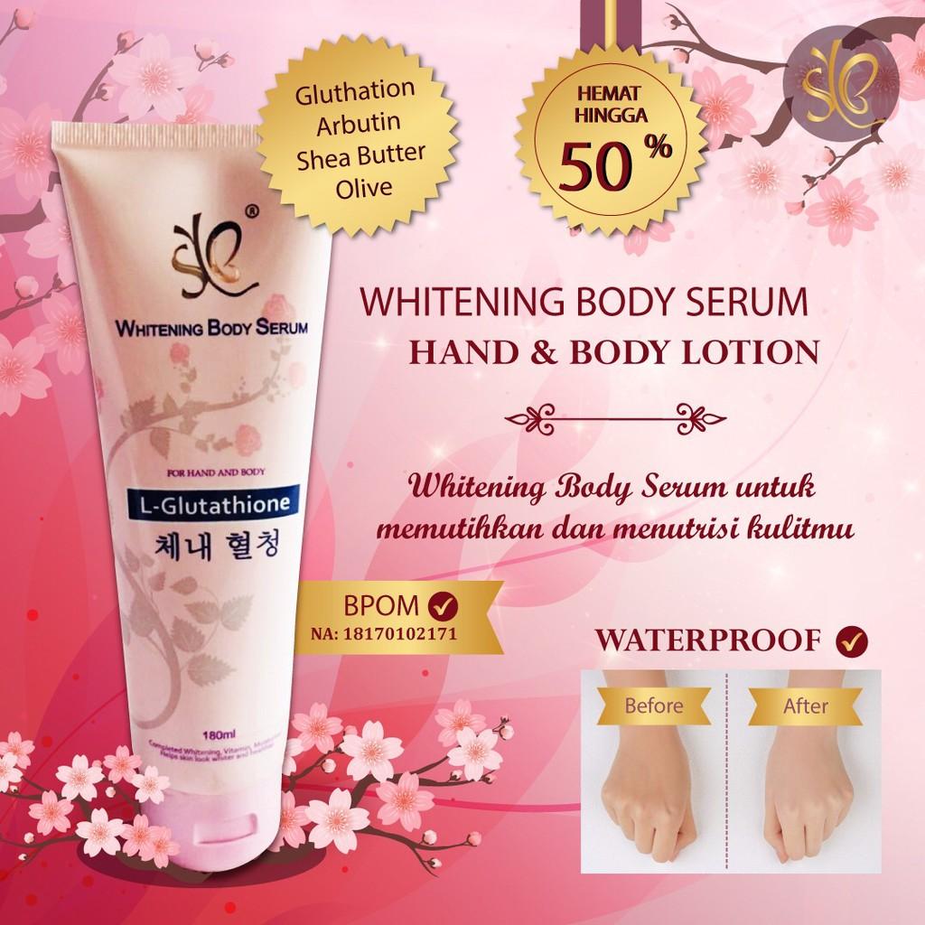 Body Serum Glutathion Pink New By Syb Bpom Shopee Indonesia Pemutih Badan Fair N 160ml Ber