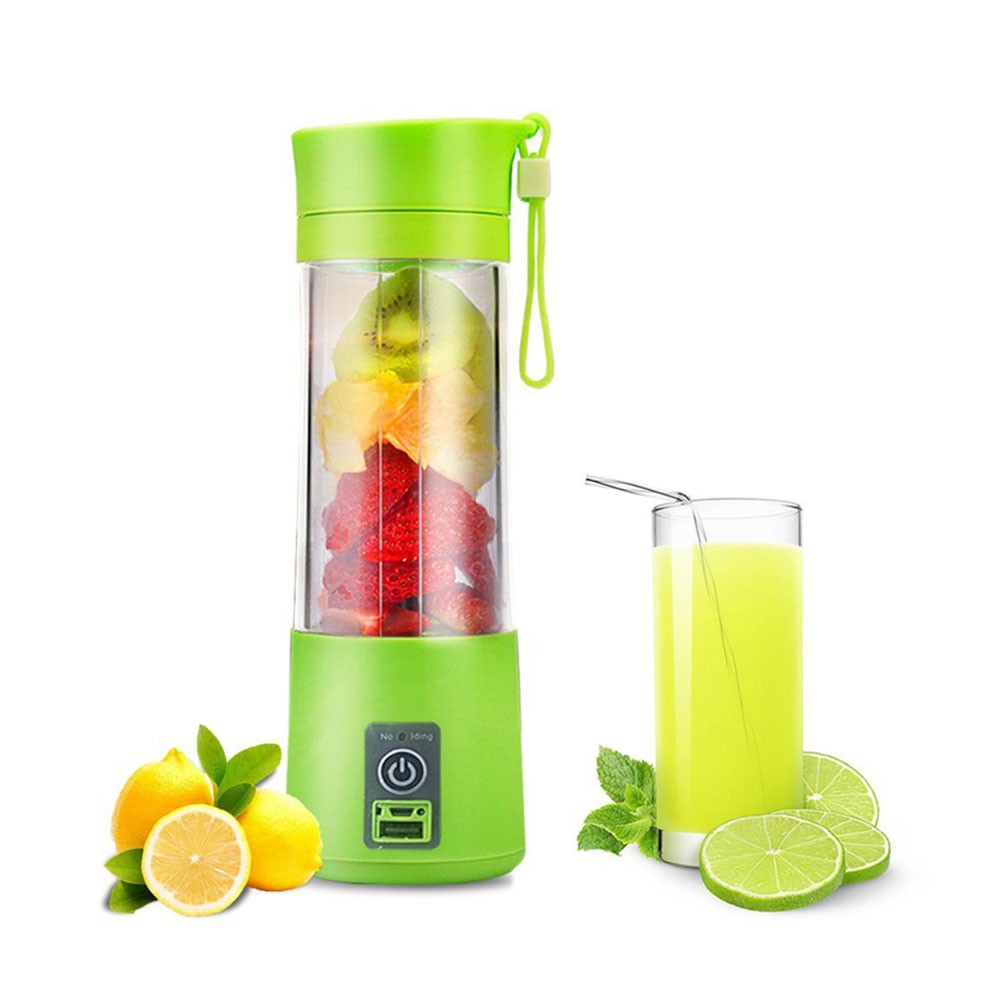 Mini USB Electric Fruit Juicer Smoothie Portable Maker Blender Bottle | Shopee Indonesia