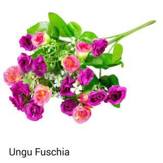 bunga mawar mini mawar hias bunga dekorasi artificial