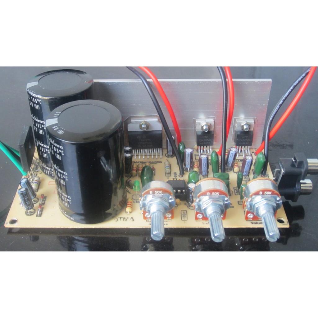 Kit Power Amplifier Yiroshi X10 Pro Pa 1250 Watt Shopee Indonesia Indonesias Legendary Diy 150w Ocl
