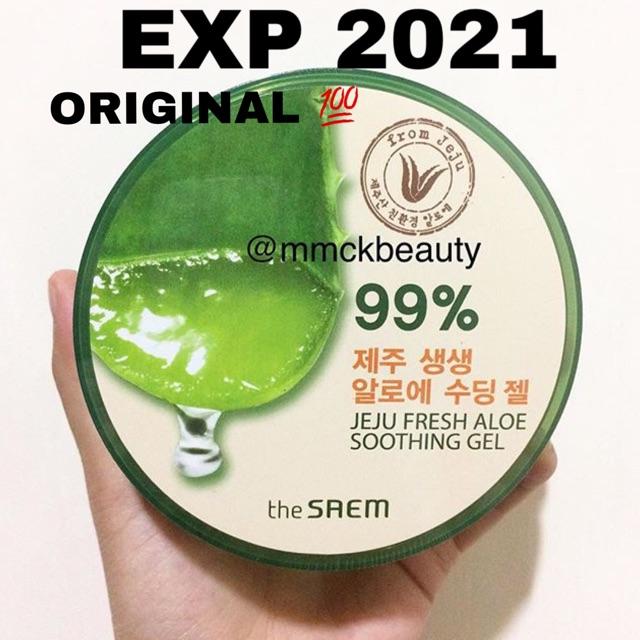 [KHUSUS GOSEND GROSIR] The Saem Jeju Fresh Aloe 99% Soothing Gel 300ml | Shopee Indonesia