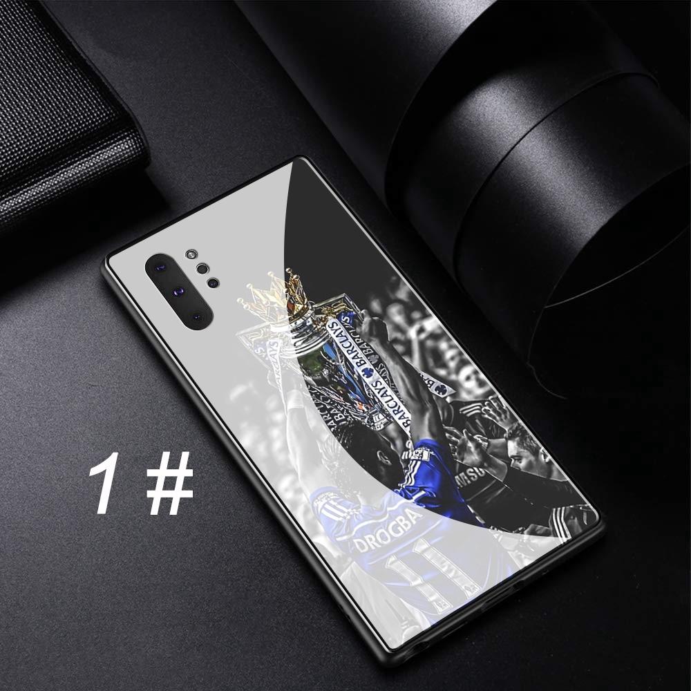 Samsung Galaxy Note 8 9 10 Plus A10 A20 A30 A40 A50 A60 A70 Tempered Glass Case Chelsea A1 FC
