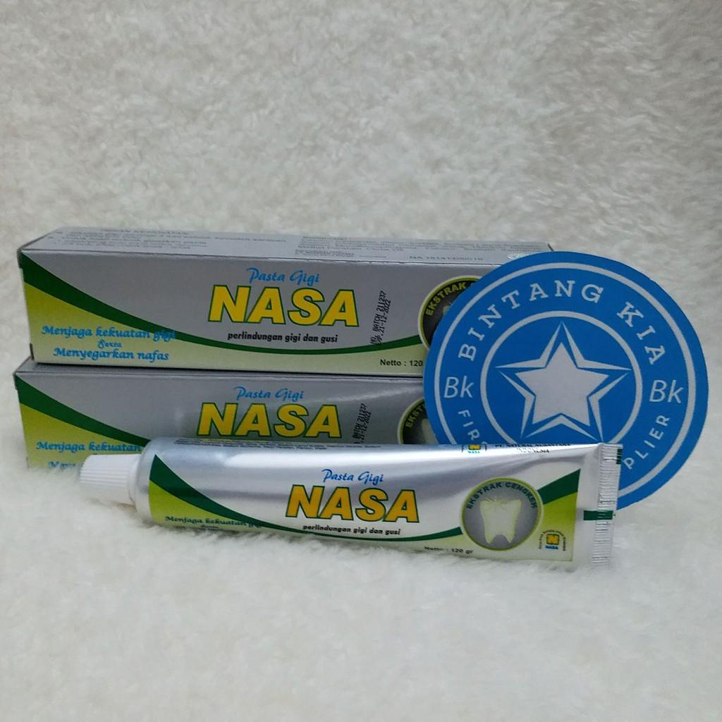 Pasta Gigi Nasa Pemutih Gigi Penghilang karang gigi cocok untuk behel gigi   db4649297f