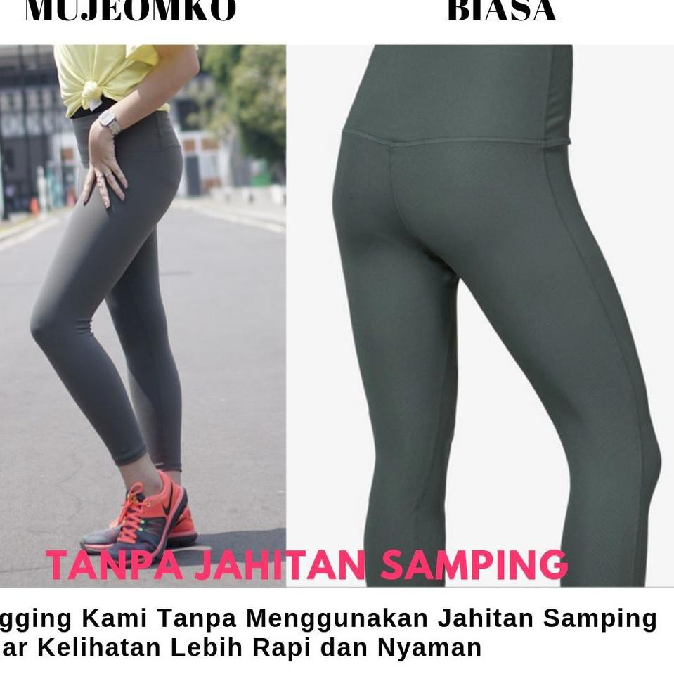 녕 Made In Korea Legging Mujeomko Beda Dengan Legging Yang Lain Shopee Indonesia