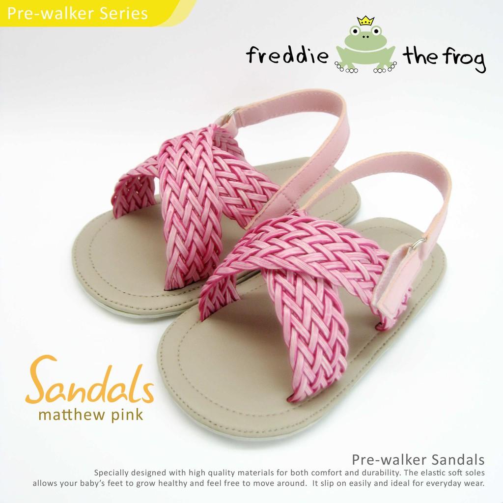 Sepatu Harga Terupdate 1 Jam Lalu Prewalker Bayi Freddie The Frog Tony Braid Black Baby Shoes Matthew Pink