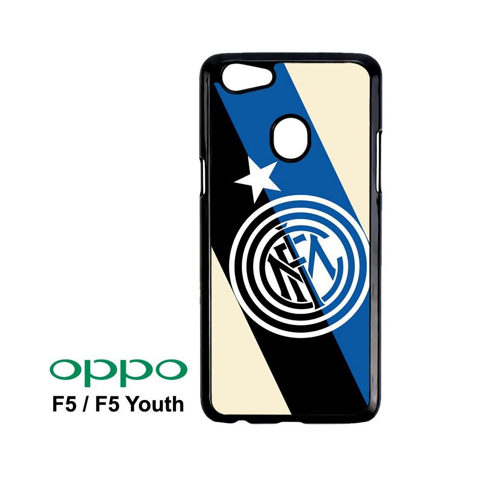 Inter Milan Logo Wallpaper Custom Case OPPO F5