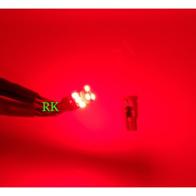 TERMURAH LAMPU LED T10 STROBO MERAH BIRU SUPERBRIGHT CANBUS GARANSI PNP MOBIL DAN MOTOR DC |