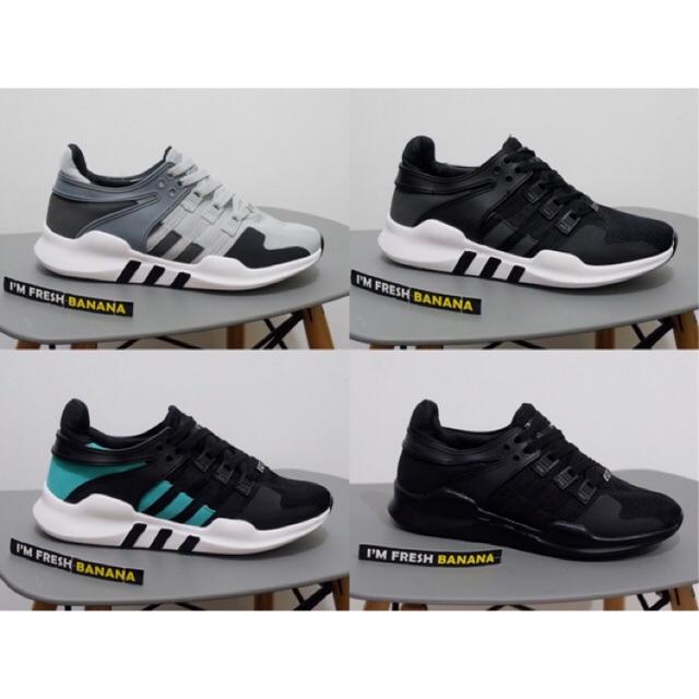 Fila Sepatu Tenis Olahraga Original Tennis - BLACK WHITE GREEN ... 97556f4ac4