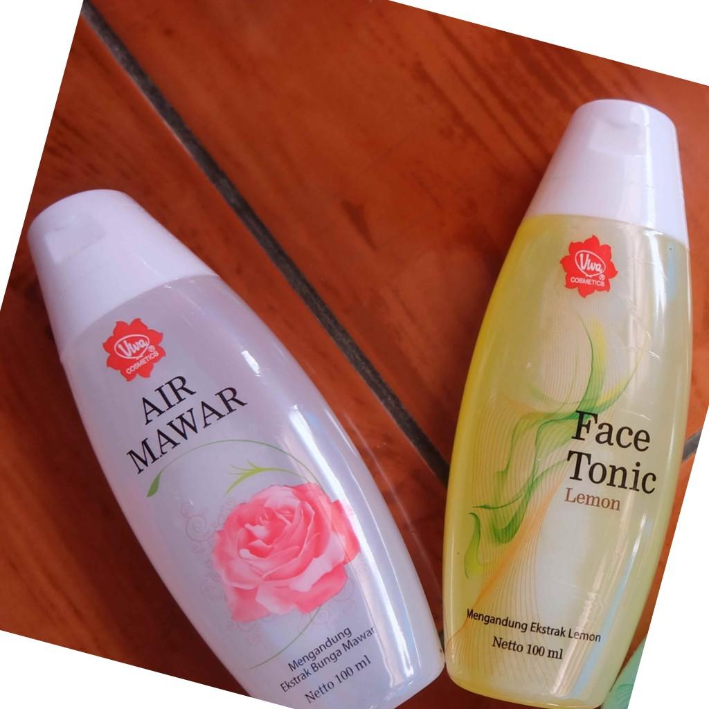 Face Mist Perpaduan Air Mawar Dan Face Tonic Lemon 1 Paket Shopee Indonesia