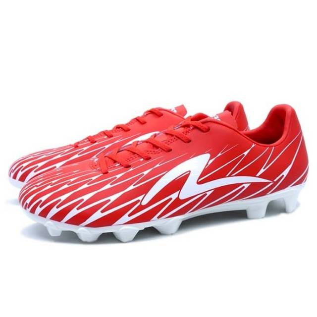 Sepatu Bola Specs Flash 19 FG Emperor Red White