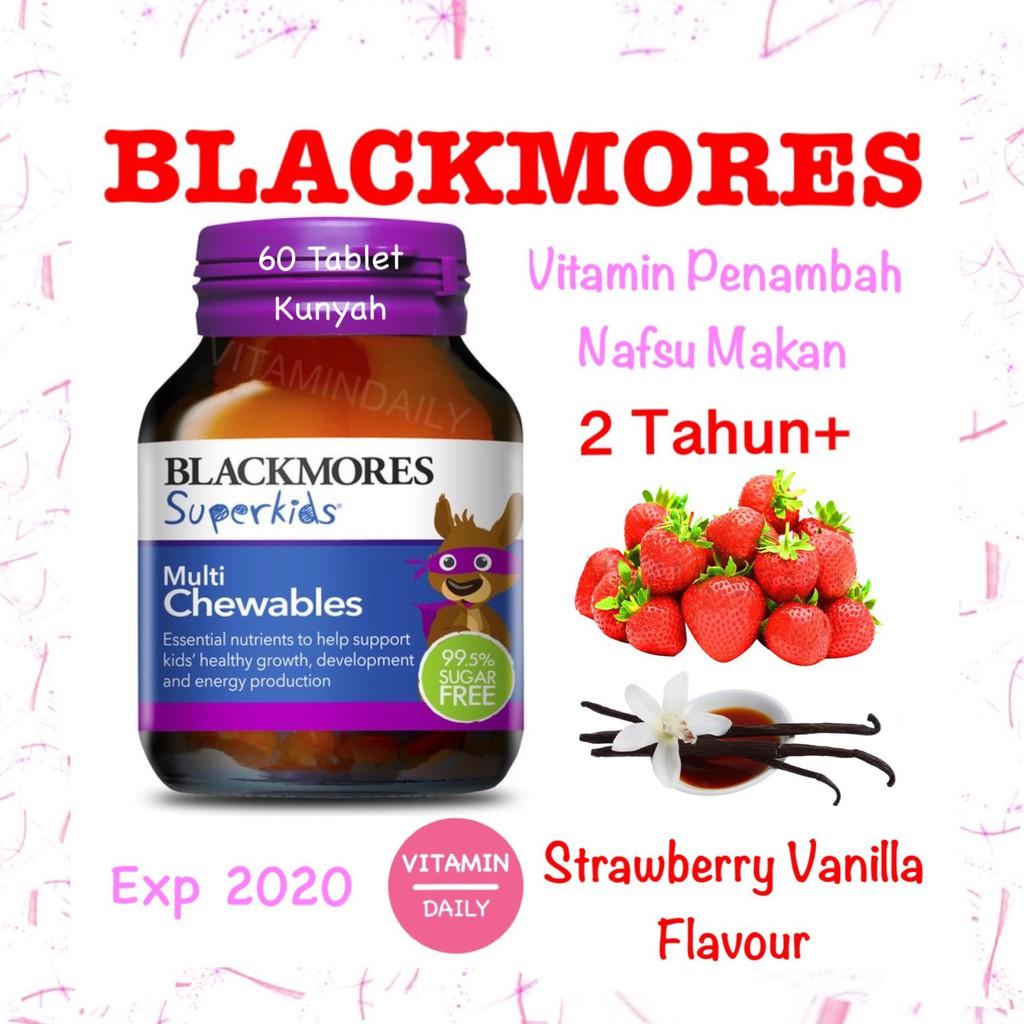 Promo Blackmores Superkids Multi Chewable 60 Tablet Vitamin