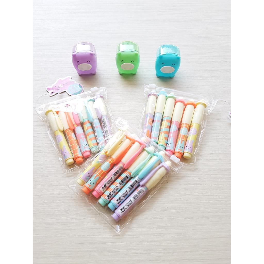 6pcs Stabilo Boss Original Pastel Highlighter Satuan Shopee Indonesia