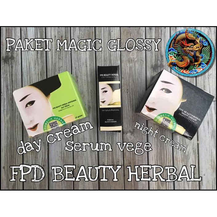 PAKET LENGKAP FPD BEAUTY HERBAL/ PAKET LENGKAP MAGIC GLOSSY ORIGINAL | Shopee Indonesia
