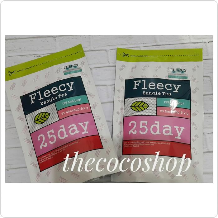 Fleecy Bangle Slimming slim herbal Tea teh pelangsing penurun berat tubuh badan | Shopee Indonesia