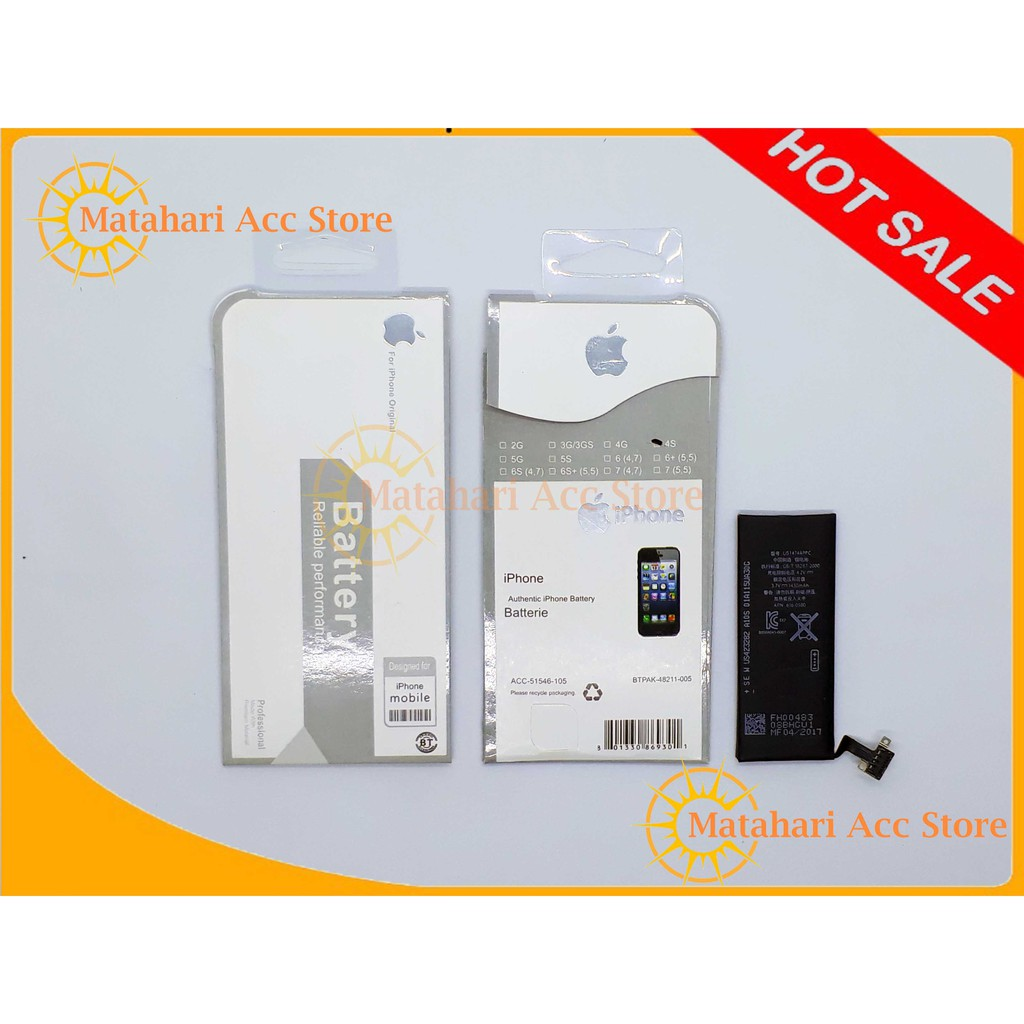 Original baterai battery iphone 4 4G 4S  24f5d351eb