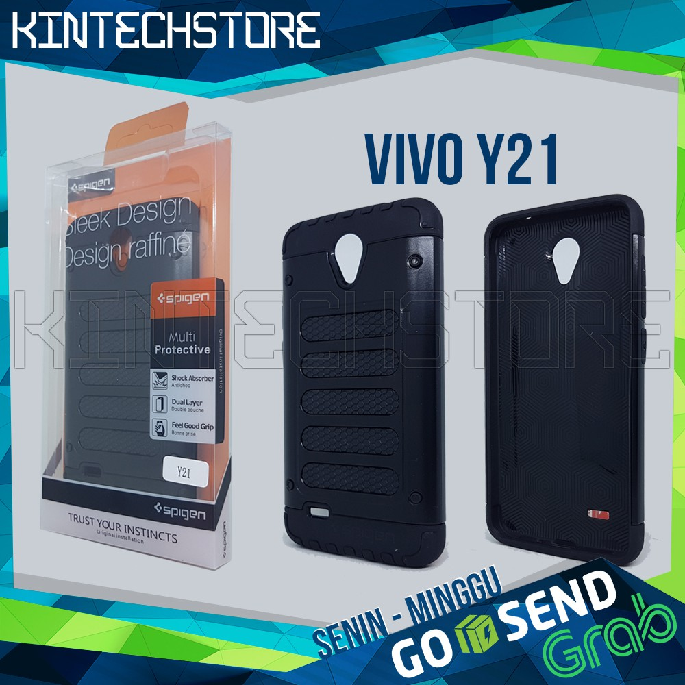 TATA Case Ipaky Carbon Fiber VIVO Y21 Softcase Shockproof TPU - Hitam | Shopee Indonesia