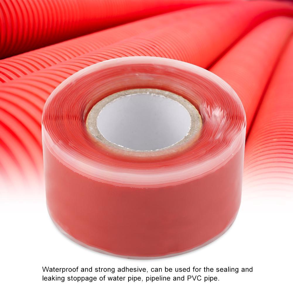 1X Black Rubber Silicone Repair Waterproof Bonding Tape Rescue Self Fusing Wire