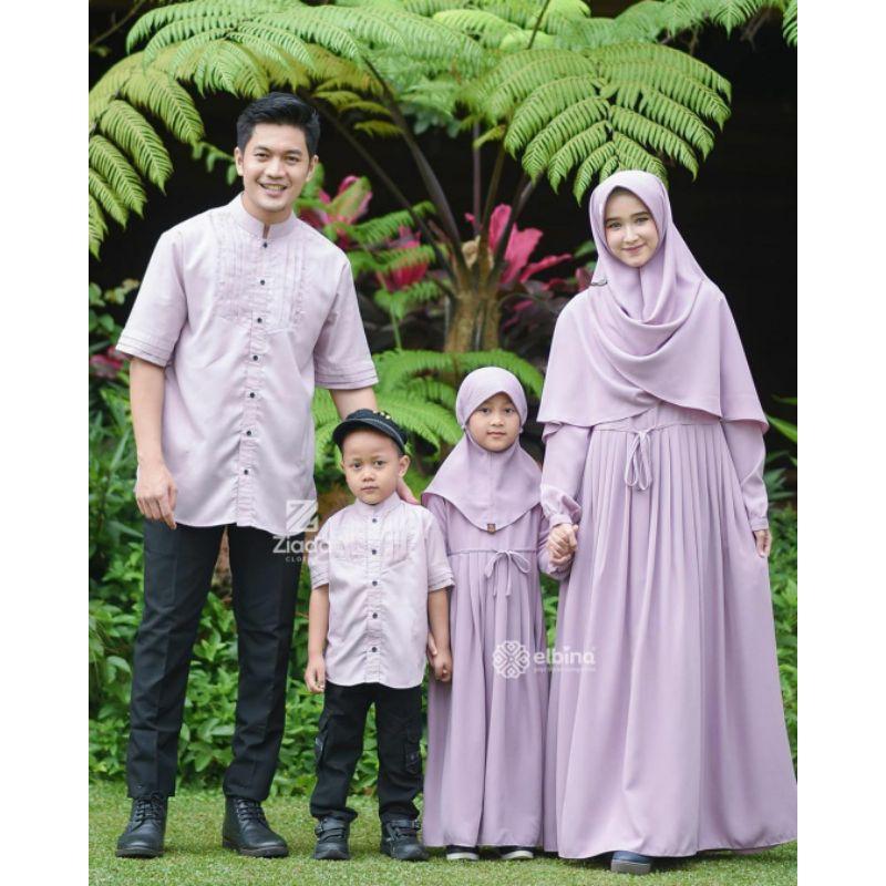 OPEN PO Awan Family Set by Elbina Hijab