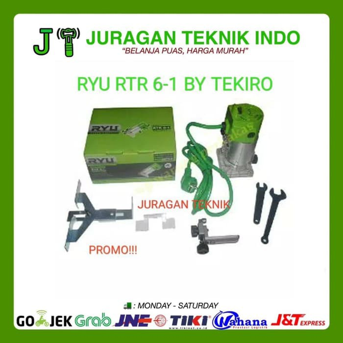 Tekiro Ryu RRT 12-1 Mesin Pahat Profil Kayu - Router / Wood Trimmer | Shopee Indonesia
