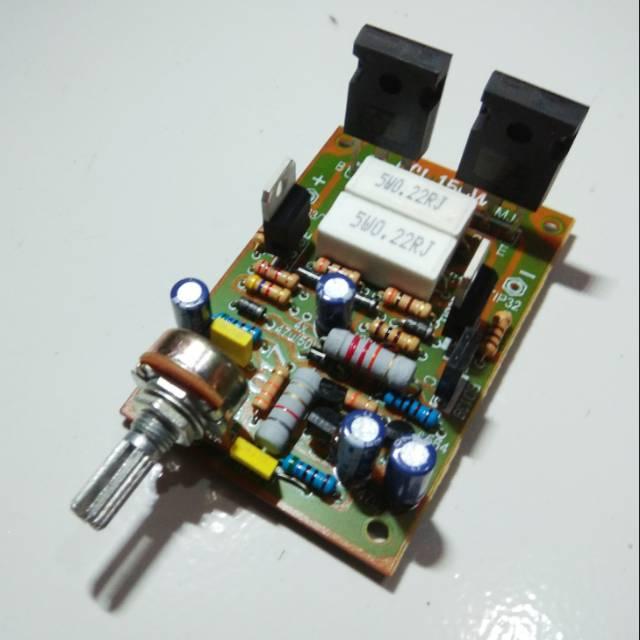 Kit Power Amplifier OCL 150Watt 017