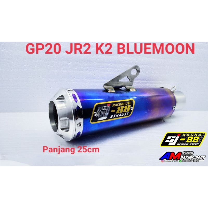 Silincer SJ88 GP20 Bluemoon