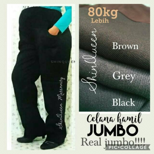 eb8c1a1b13a8d Celana Ibu Hamil Kerja | Shopee Indonesia