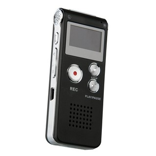 USB Digital perekam suara 650Hr alat Dictaphone MP3 Player hitam. suka: