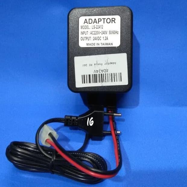 Adaptor pompa 24V 1,2A I Pompa Air