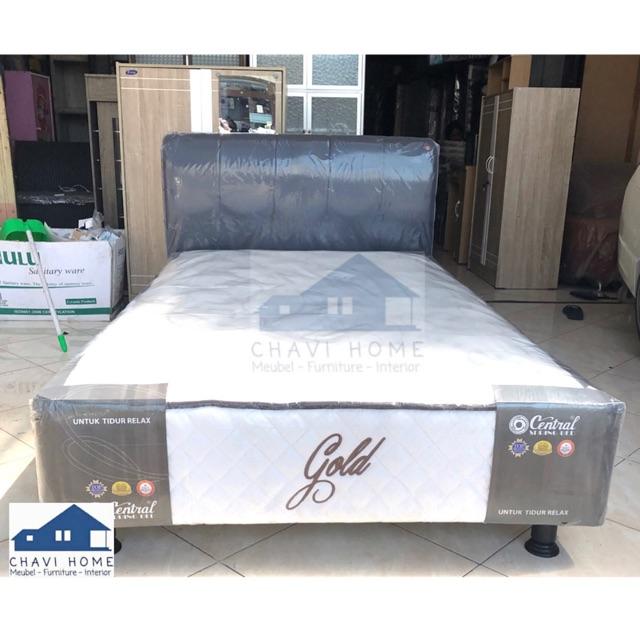 Set springbed central gold multibed spring bed ukuran 120x200