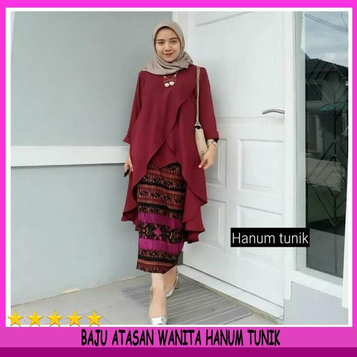 Fashion Wanita - Atasan - Blouse Atasan Spandek Korea Import Bigsize Fit To Xxxl  Kode E22138  c8c6c569b2
