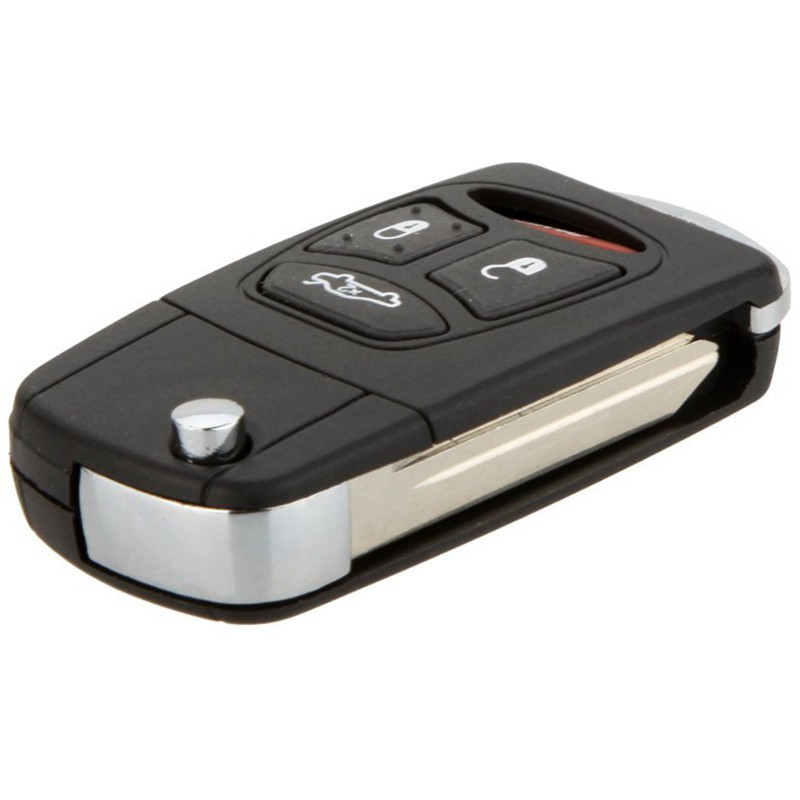 Car Flip Key Fob Keyless Entry Remote For 2006 2007 Mitsubishi Raider