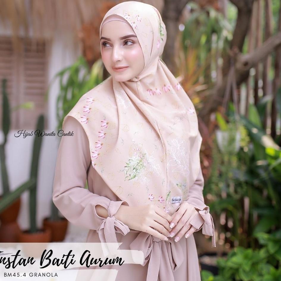 ✼✿ Hijabwanitacantik - Instan Baiti Aurum | Hijab Instan | Jilbab Instan