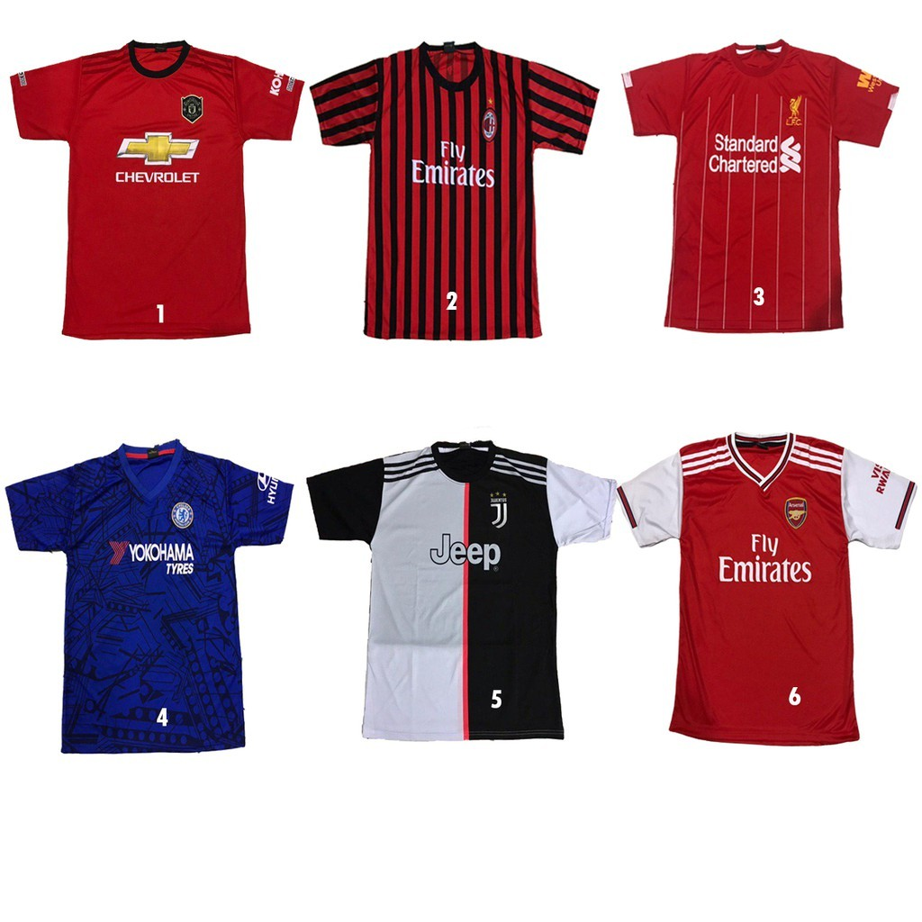 Jersey bola dewasa | kaos bola | Shopee Indonesia