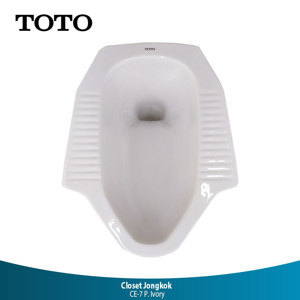 Wc Jongkok Toto Ce7 Warna Ivory Kloset Jongkok Untuk Lantai Dasar Shopee Indonesia Harga closet jongkok toto