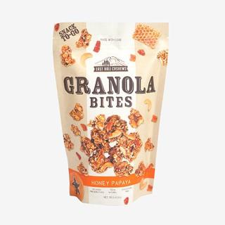 East Bali Cashew Granola Bites Honey Papaya