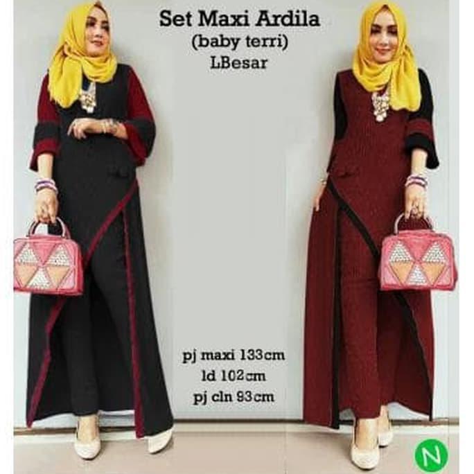 Maxi+Dress+Dress+Muslim - Temukan Harga dan Penawaran Online Terbaik -  Desember 2018  7ea218870a