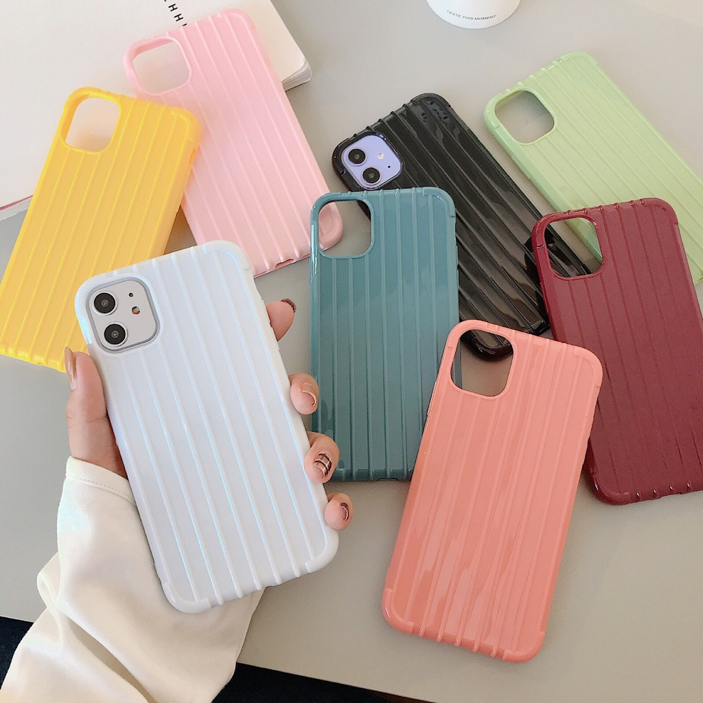 Iphone 6 6s 6Plus 7 8Plus Soft Case Koper Silikon Polos Candy