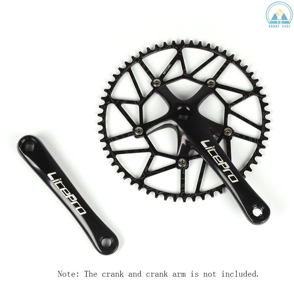 Litepro Hollow CNC AL7075 Folding Road Bike Chainring Crankset BCD130mm 45T-58T