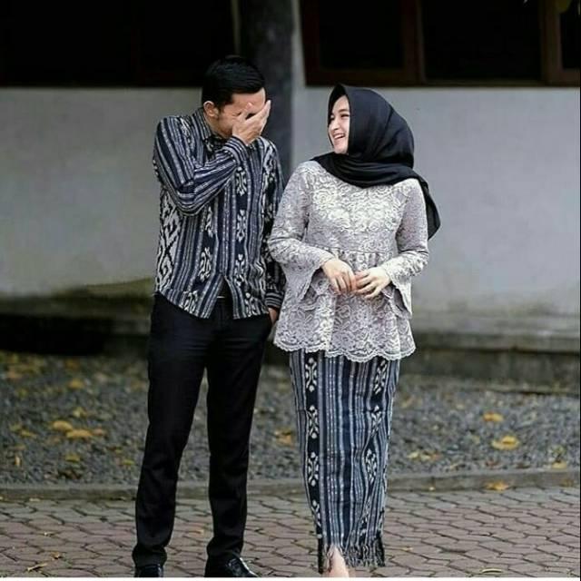 Baju Couple Kemeja Dan Rok Tenun Blangket Murah Shopee Indonesia