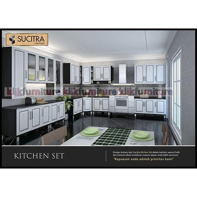 Banting Harga Kbt 010880i Olympic Mutiara Kitchen Set Bawah 3 Pintu