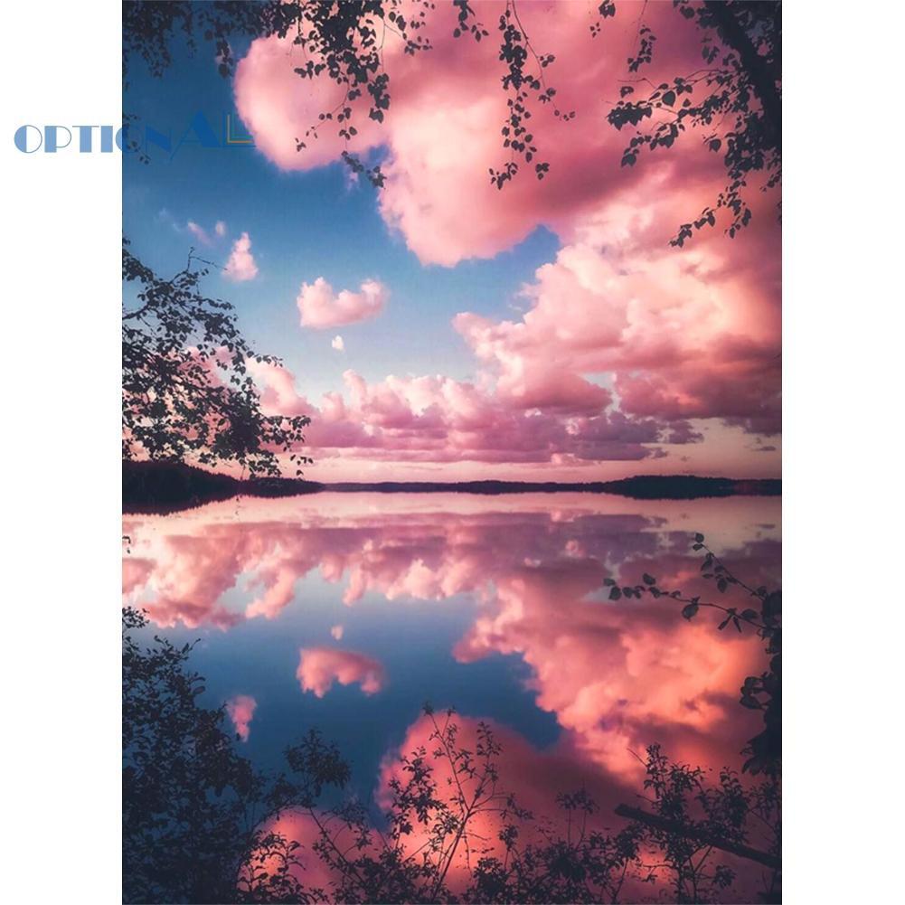 Gambar Awan Warna Pink