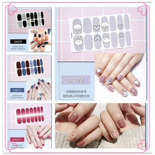 COD 14tips Set Stiker Dekorasi Nail Art DIY thumbnail