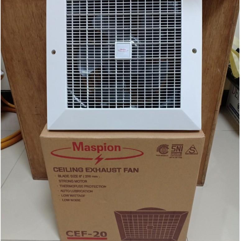 Exhaust Fan Kipas Angin Hisap Maspion Cef 20 Cef20   8