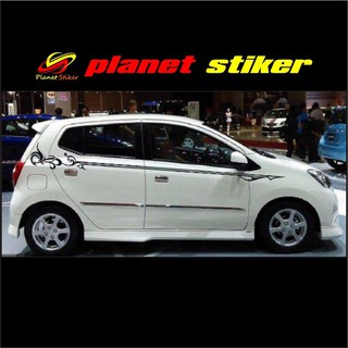 460+ Gambar Cutting Sticker Mobil Agya HD Terbaik