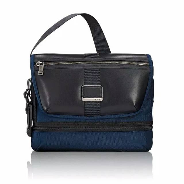TUMI Alpha Bravo Travis Crossbody Blue