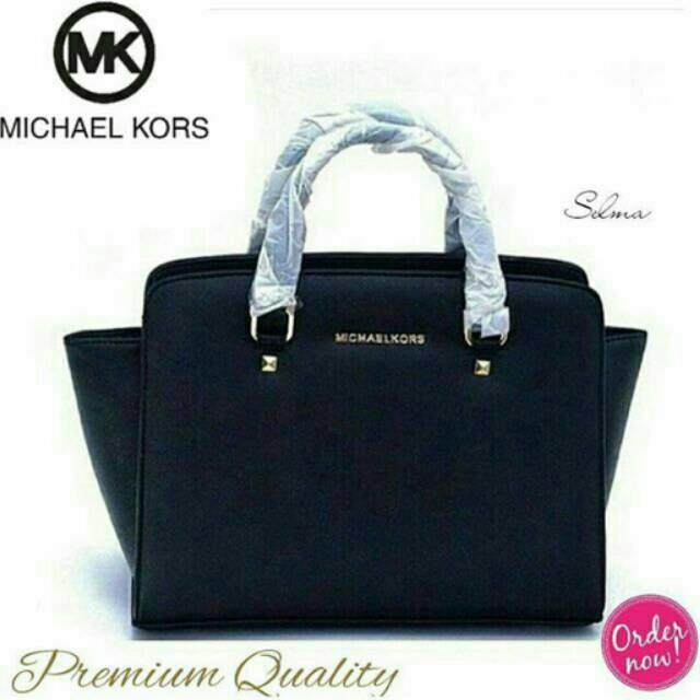 b0a6a91fe1e NEW Tas Wanita MK Medium Selma Michael Kors Import Original | Shopee  Indonesia