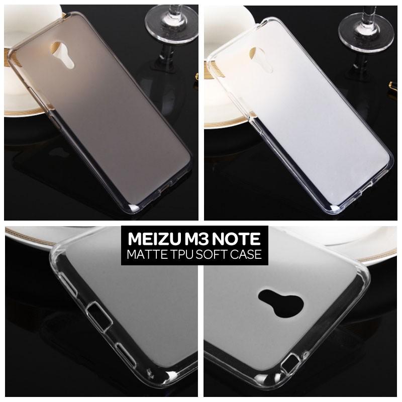 Meizu M5 Note Matte TPU Soft Case Casing Cover .