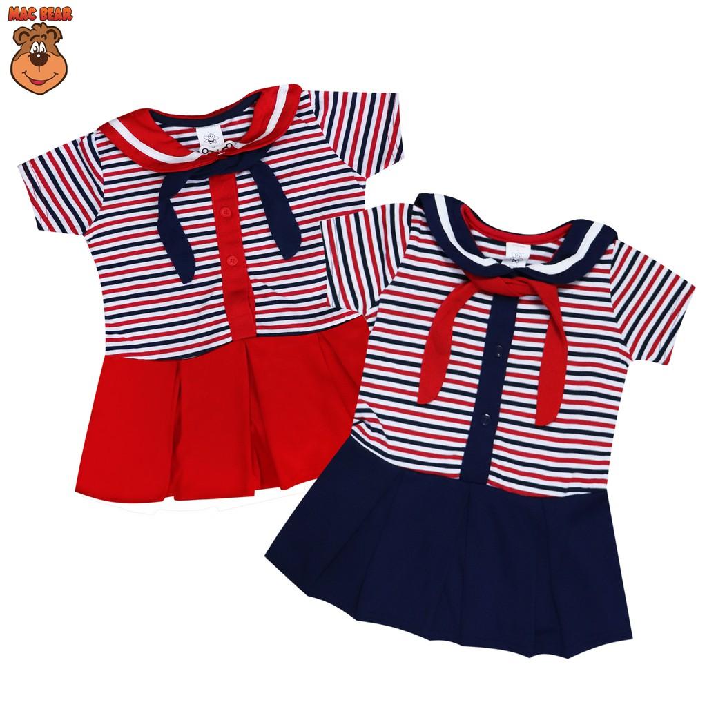 Macbee Kids Baju Anak Dress Fruity Shopee Indonesia Sweet Polkadot Size 2 Merah